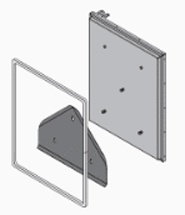 E-Classic 2300, Steel Door Firebox Update Kit