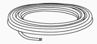 3 Conductor Shielded Cable 100' Roll