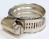 "1"" Stainless Steel Pex Clamp with Wave Seal"