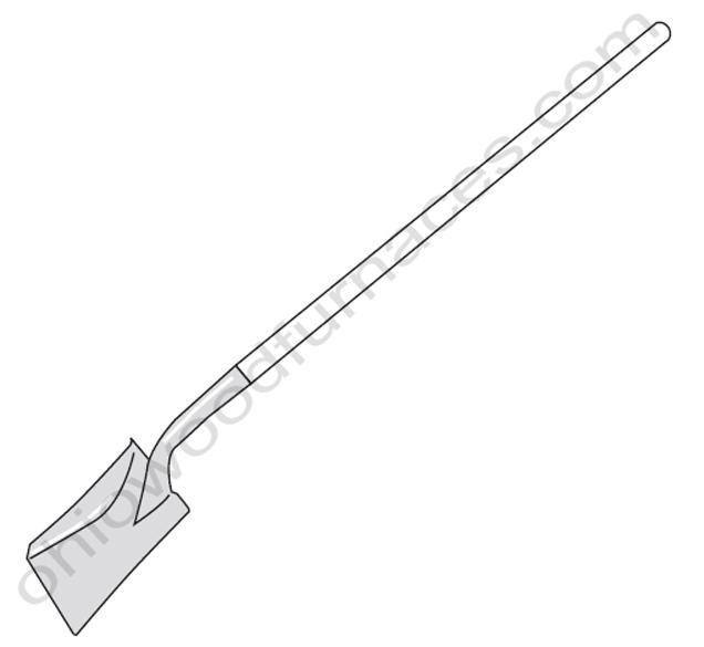 Classic Edge, E-Classic, Flat Ash Shovel