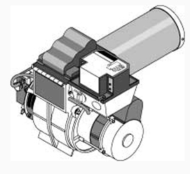 Dual Fuel Kit, Oil, Beckett Burner For CL 7260