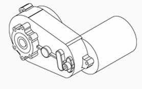 Burner Auger Motor