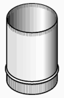 "Chimney Conversion Adaptor, Kit, 8"""
