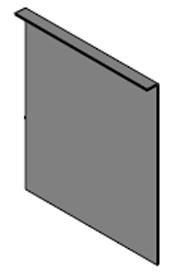 Chimney Slide Plate, CL7260/PB