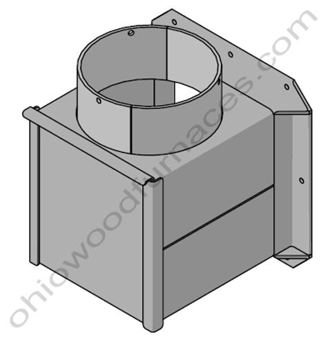 Chimney Support Box Kit CL7260, Pallet Burner, CL 75