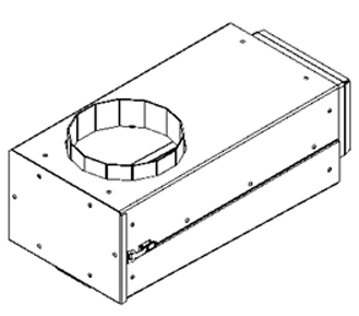Chimney Tee, Assembled, E-Classic 1450