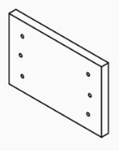 E-Classic 2300 Side Door Refractory, Universal