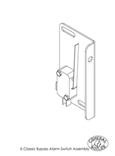E Classic Bypass Alarm Switch, Assembled