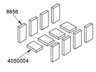 Firebrick, Red, 6.625X4.5X1.25, E-Classic 1450