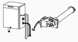 LP Gas Burner Kit, E-Classic 1450 IR Models