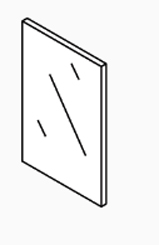 "Inspection Window, 1/8""X2""X3"",M250,M255"