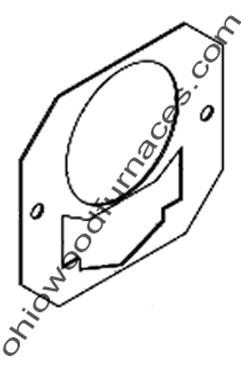 "M175 Burner Gasket, White, 1/8"""