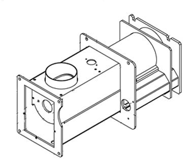 Transition Box Kit, M250/M255P, Assembled