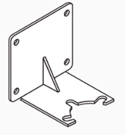 Mounting Bracket for 1-1/4″ Thermostatic Valve