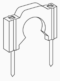 """1/2"""" Pex Piping Clips"""