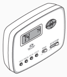 Programmable 24 Volt Thermostat