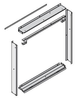 Pump Panel Extension Kit Classic Edge 350, 550