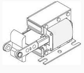 Solenoid 1-5/8″ center-to-center bracket hole