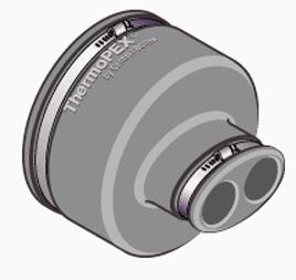 25mm Thermopex Termination Cap