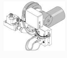 Retro Dual Fuel LP Burner Kit with Burner