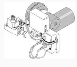 Dual Fuel Kit, LP, Wayne Burner