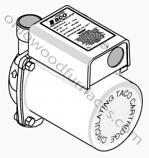Taco 006 Pump, Bronze, 115V, 60HZ