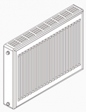 "Radiator, with Decals, 51.5""WX24""H"