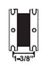 Solenoid, 1-3/8″ center-to-center bracket hole