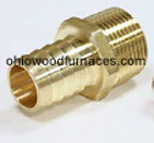 "Brass 25mm Pex x 3/4"" NPT"