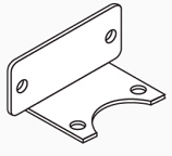 Mounting Bracket for 3/4″ Thermostatic Valve