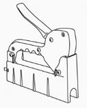 """1/2"""" Pex Piping Clip Gun"""