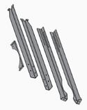 Chimney Support Brace Kit, CL 7260, Pallet Burner