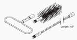 Flue Brush Kit, M175, E-Classic 2300