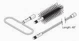 Flue Brush Kit, M175, E-Classic 2300