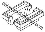 Classic Edge 750 Refractory, Upper