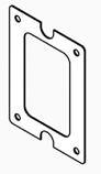 """Inspection Window Gasket, Cover, 1/8"""",M250,M255"""