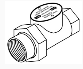 "Backflow Preventer, 3/4"", Lead Free"