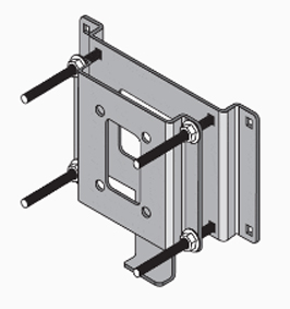 Universal 5x12 Plate Heat Exchanger Mounting Kit